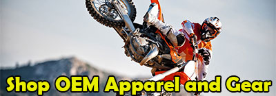 Shop OEM Apparel and Gear Button